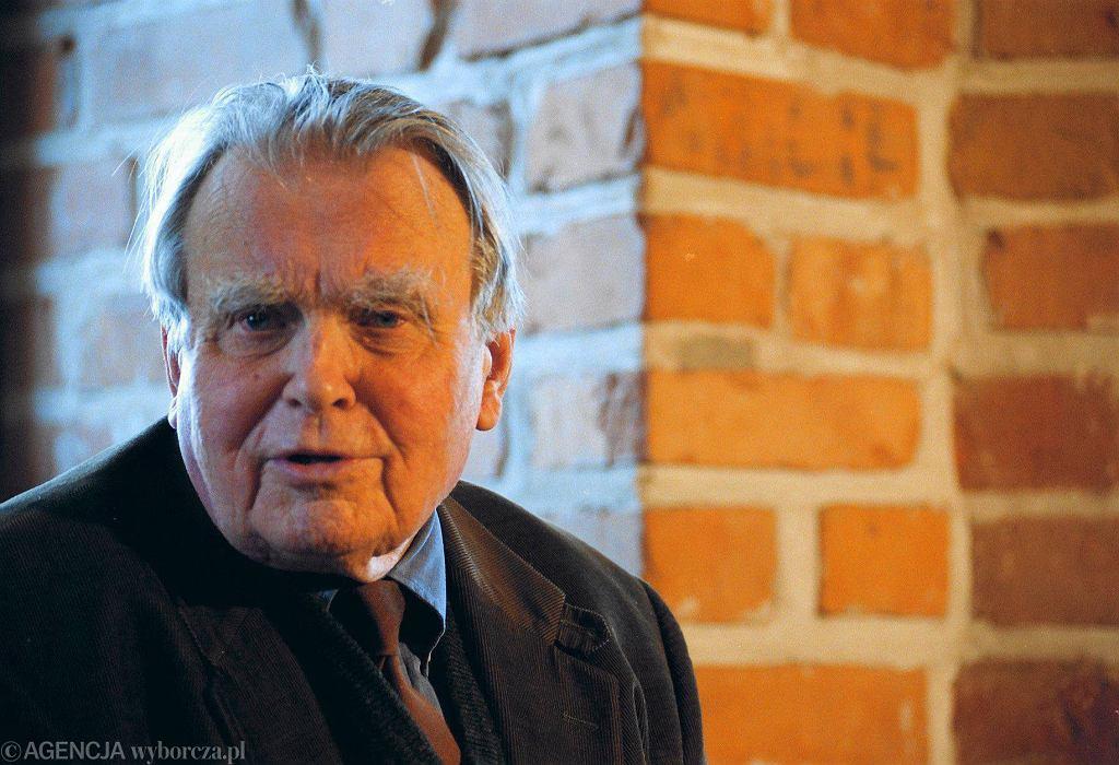 Czesław Miłosz, 1999 r.
