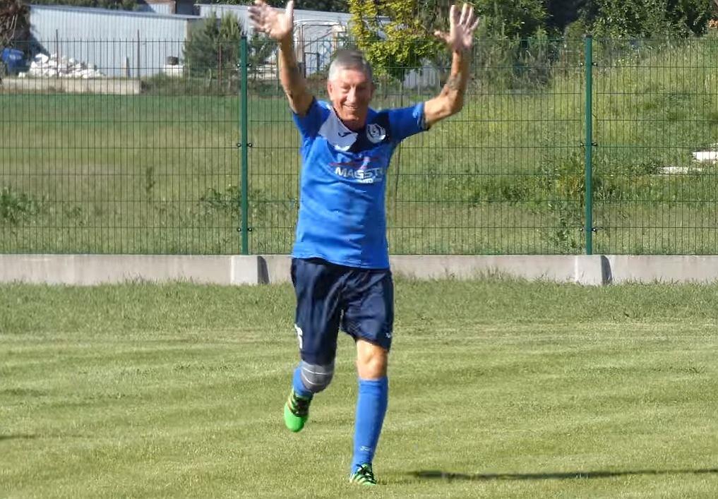 71-letni Bogdan Głąbicki strzelcem gola w lidze okręgowej