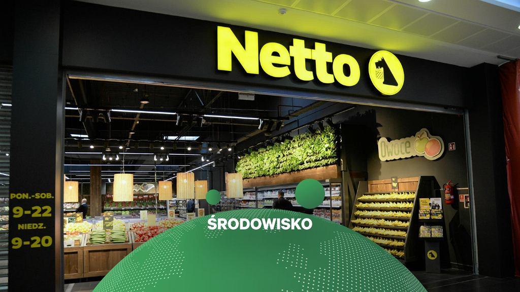 Netto wprowadza wielorazowe skrzynie w swoich sklepach