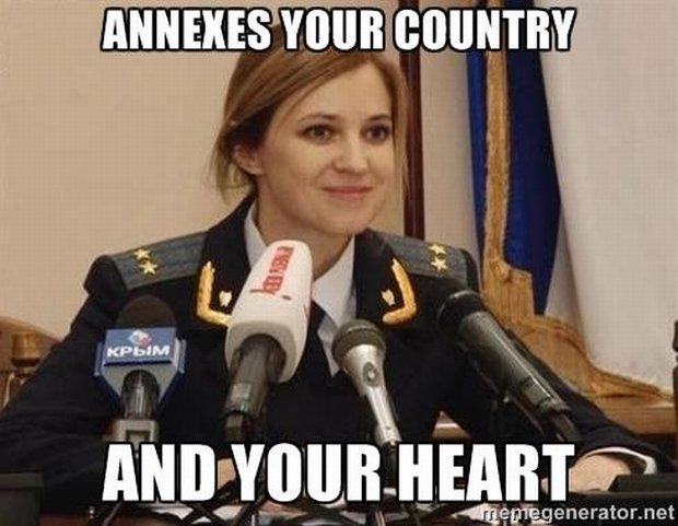 Powstało mnóstwo memów o prokuratorce generalnej Krymu