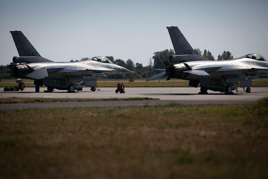 Armia izraelska straciła osiem myśliwców F-16. Maszyny zatopiła potężna ulewa - zdjęcie ilustracyjne