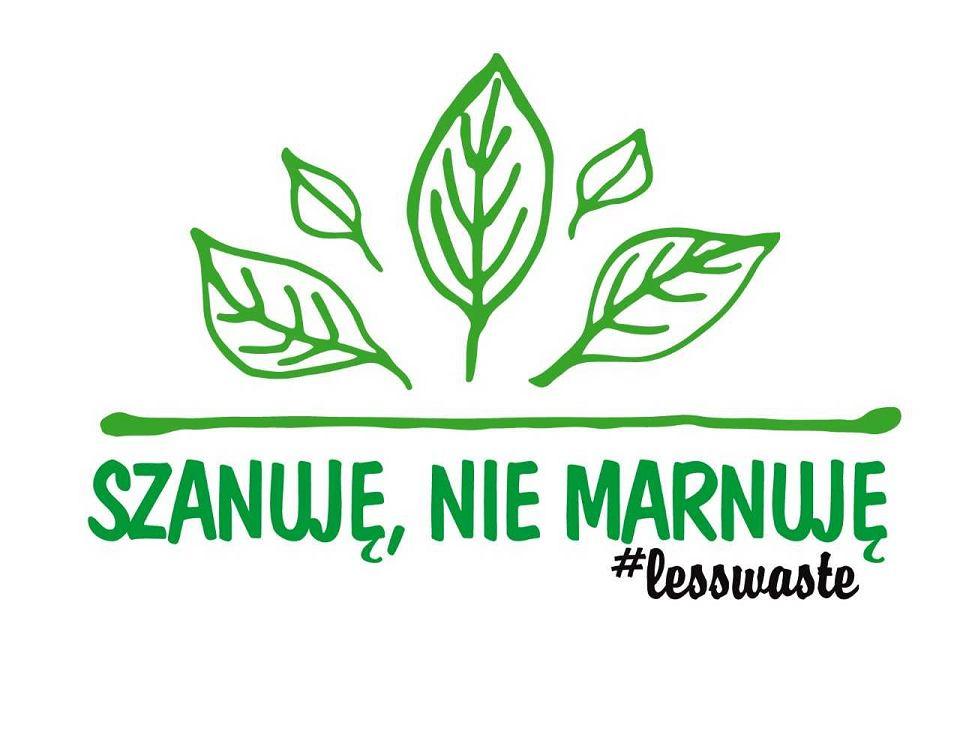 Logo akcji 'Szanuję, nie marnuję'