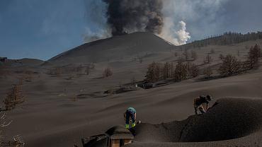 Erupcja wulkanu Cumbre Vieja na wyspie La Palma