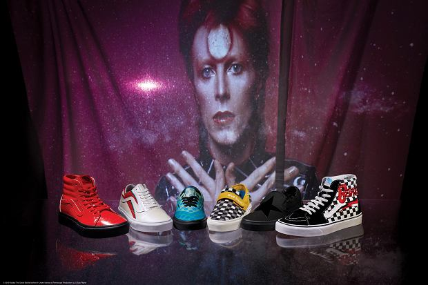 Buty z kolekcji Vans x David Bowie