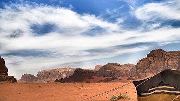 Wycieczka Jordania, Wadi Rum, zwyczajne życie.
