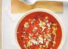 Menu z odmienioną pomidorową i zapiekanymi naleśnikami