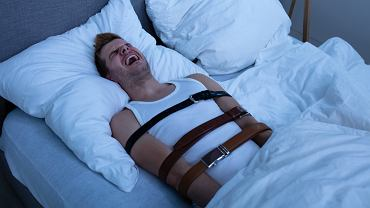 Paraliż senny- kiedy ciało śpi, a umysł się budzi. Zdjęcie ilustracyjne