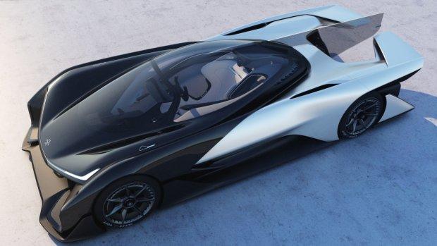 Faraday Future - koncept samochodu