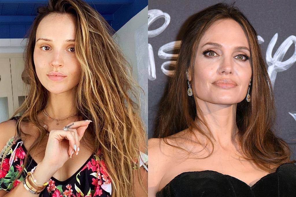 Marina Łuczenko, Angelina Jolie