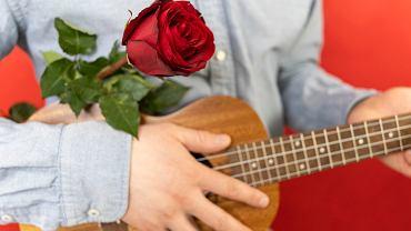 Romantyczne piosenki zapewnią miłą atmosferę w walentynki. Zdjęcie ilustracyjne