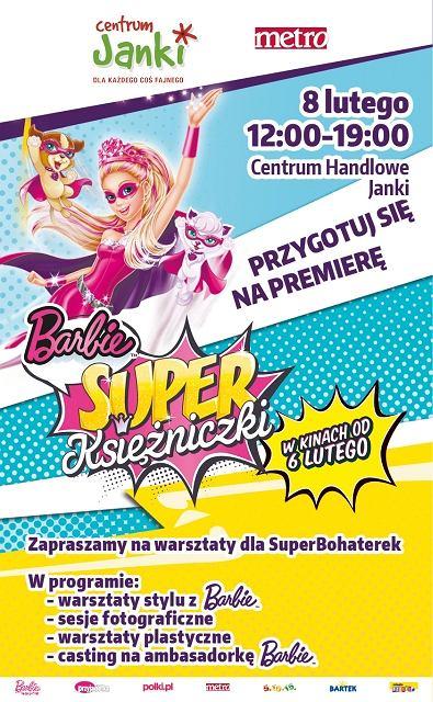 Barbie Super Księżniczki - Warszawa