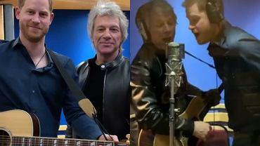 Książę Harry i Bon Jovi