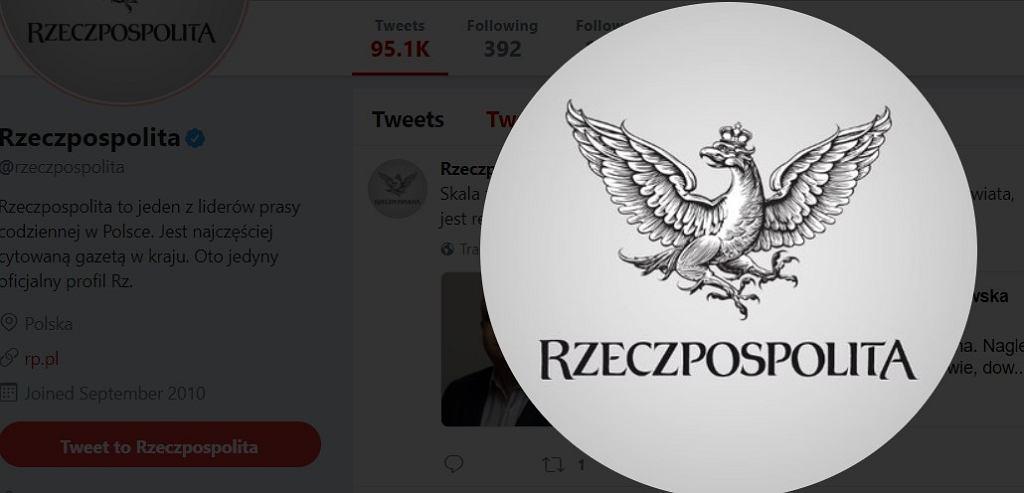 Profil Rzeczpospolitej na twitterze
