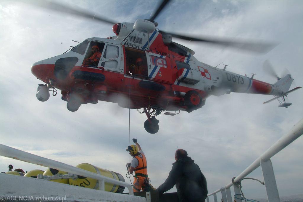 Akcja ratunkowa w Łebie