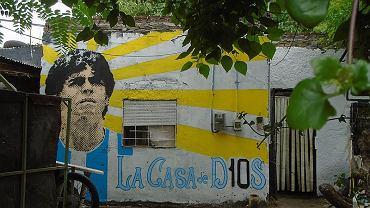 Diego Armando Maradona, mural