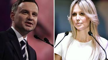 Andrzej Duda i Magdalena Ogórek