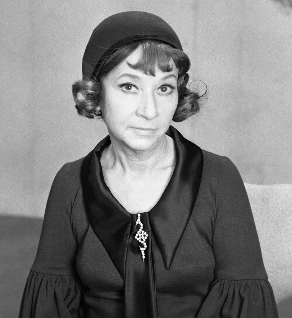 Irena Kwiatkowska w 1969 r.