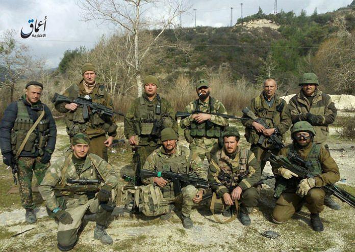 Oddział tzw. Grupy Wagnera walczący m.in. w Syrii
