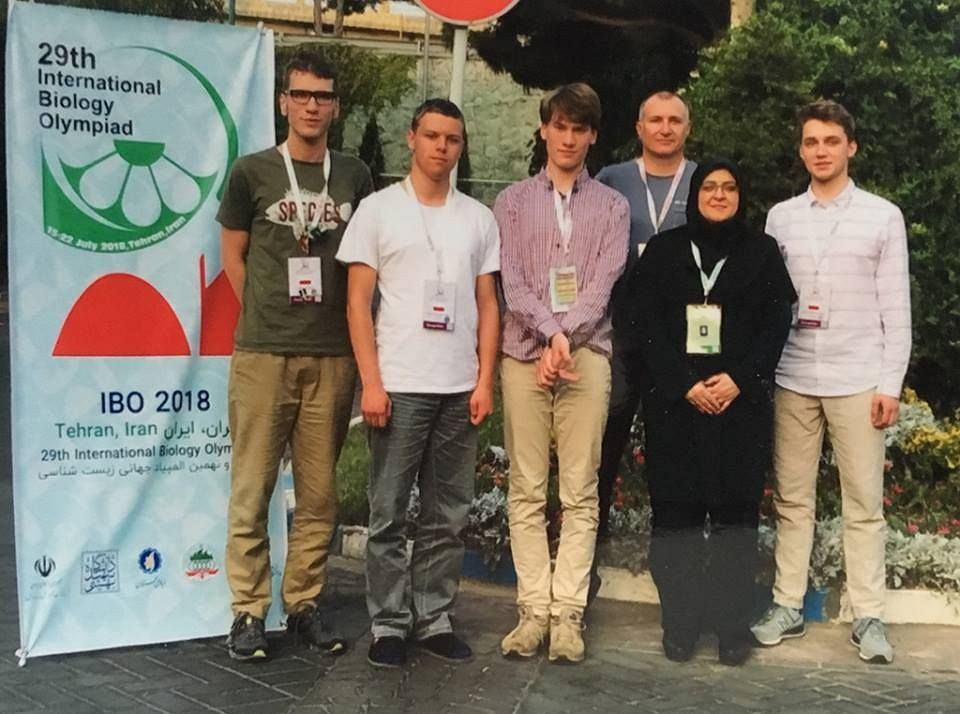 Reprezentacja Polski na Międzynarodowej Olimpiadzie Biologicznej.