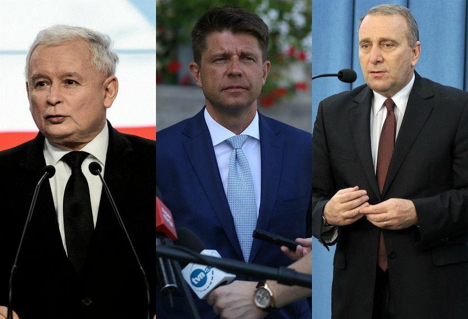 Liderzy sondażu: PiS, Nowoczesna, PO