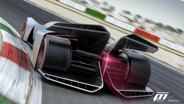 Wirtualny bolid Team Fordzilla P1 - efekt współpracy centrum projektowego Ford z milionami graczy