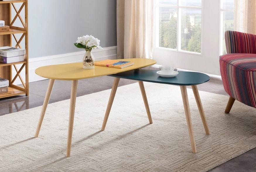 Najmodniejsze stoliki kawowe do salonu.