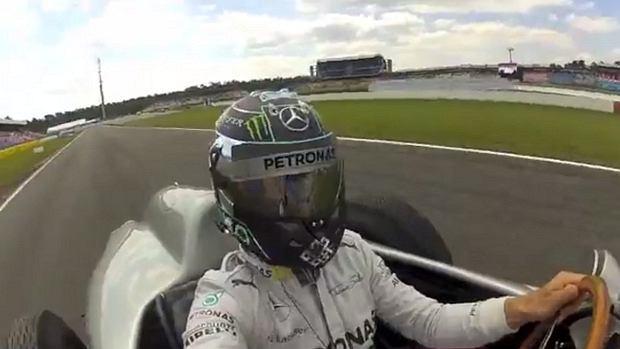 Nico Rosberg selfie