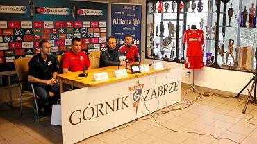 Konferencja prasowa przed meczem Górnik Zabrze - Podbeskidzie