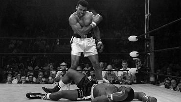 Muhammad Ali vs. Sonny Liston. Lewinson, 25 maja 1965