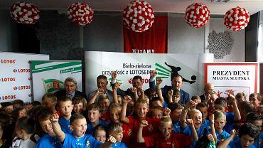 Biało-zielona przyszłość z Lotosem zawitała do Słupska