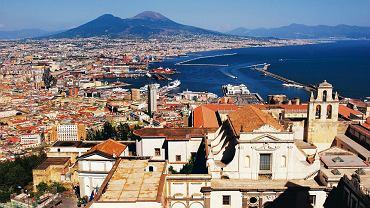 Neapol, widok z tarasu opactwa Kartuzów