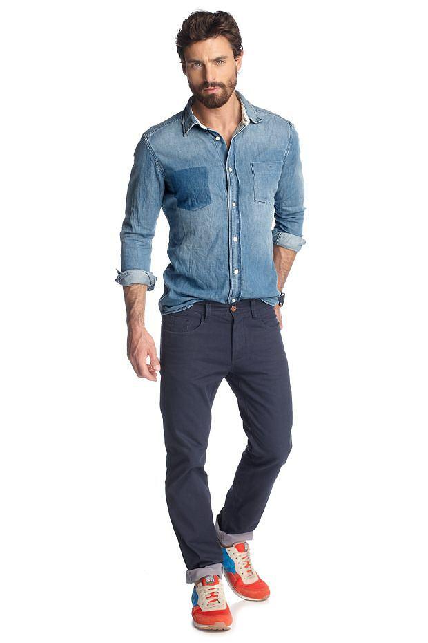 Koszula z kolekcji Esprit. Cena: ok 300 zł, moda męska, koszule męskie