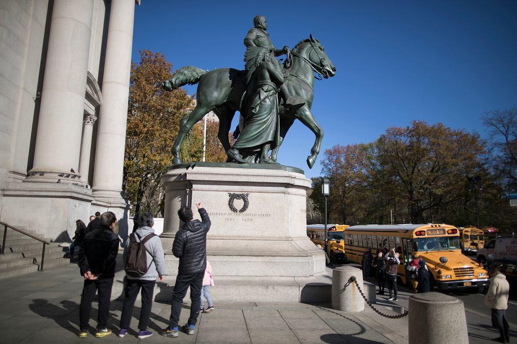 Museum Roosevelt Statue