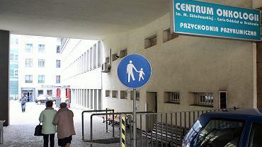 Centrum Onkologii przy ul. Garncarskiej w Krakowie