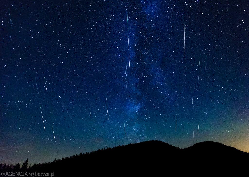 Perseidy 2019. Kiedy na nocnym niebie zobaczymy spadające gwiazdy?
