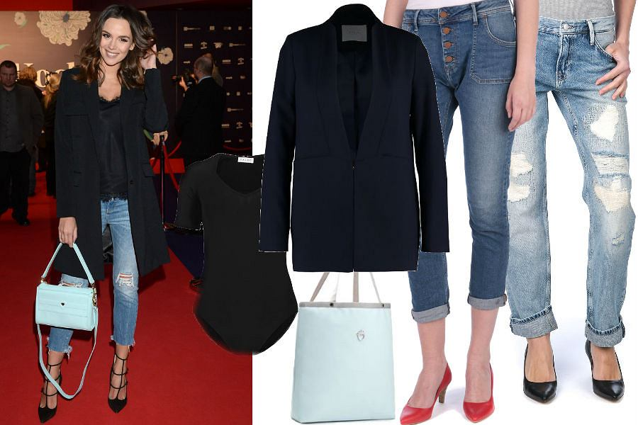 modne i tanie jeansy