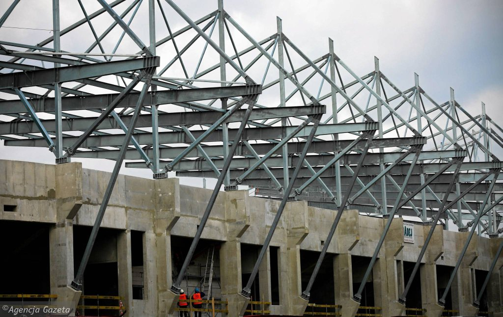 Budowa stadionu dla Widzewa