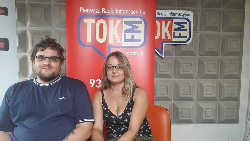 Maciej Wodziński z żoną Joanną