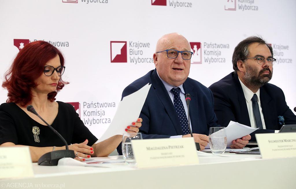 Wybory prezydenckie 2020. PKW ogłasza oficjalne wyniki. Warszawa, 13 lipca 2020
