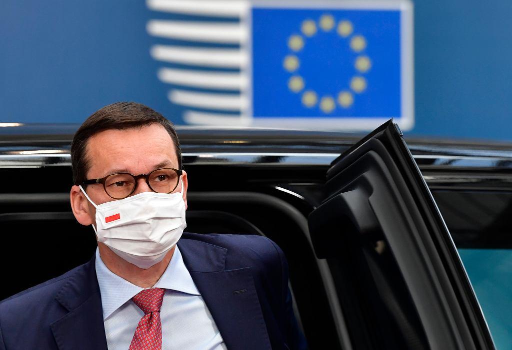 Premier Mateusz Morawiecki, Bruksela 21.07.2020