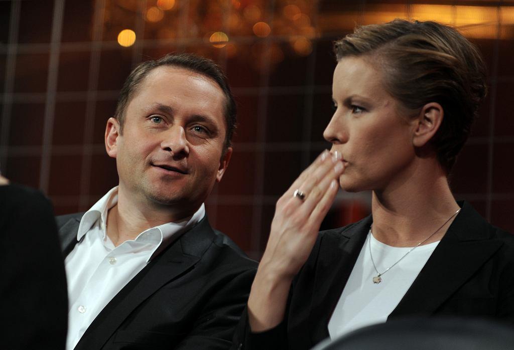 Kamil Durczok i Anita Werner