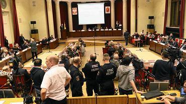 Rada miasta w Warszawie.