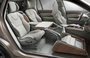 Salon Szanghaj 2015 | Volvo Lounge Console Concept | Luksus po Szwedzku