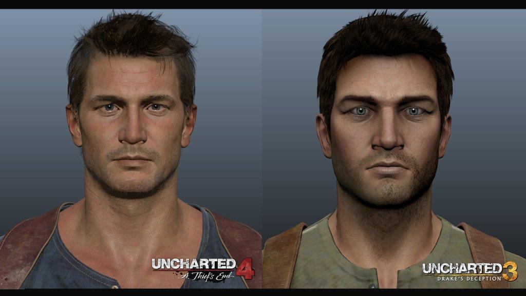 Porównanie grafiki Uncharted 3 i Uncharted 4