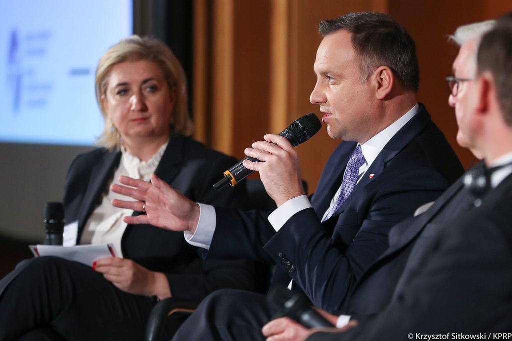 Andrzej Duda w Berlinie