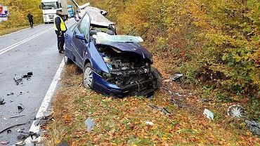 Śmiertelny wypadek w Podhuciu