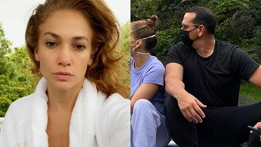 Jennifer Lopez na rodzinnym spacerze w maseczce. Nie byle jakiej!