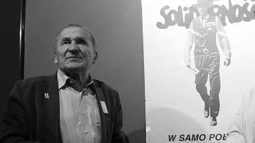 Henryk Wujec na otwarciu wystawy 'W samo południe' w Muzeum X Pawilon Cytadeli Warszawskiej w 2019 roku