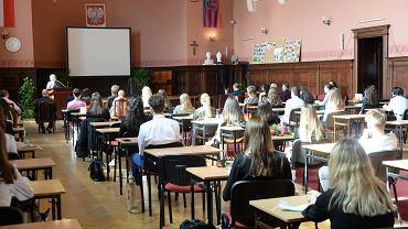 Zakończenie roku szkolnego w I Liceum Ogólnokształcącym w Szczecinie