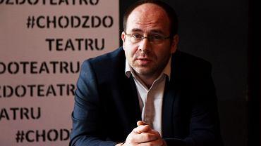 Piotr Półtorak, dyrektor Teatru Dramatycznego